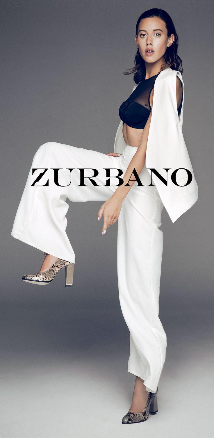 Zurbano FW15 lookbook session | Bright Python - Exotic python skin leather pumps