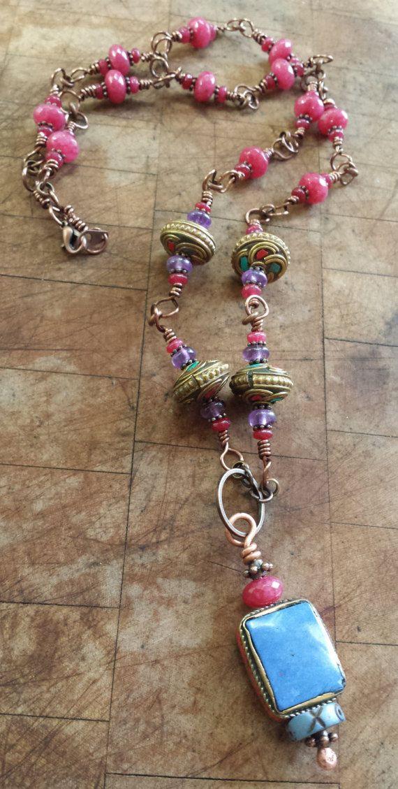 Sarabanda  monili di Boho Gypsy  Boemia  stile gioielli