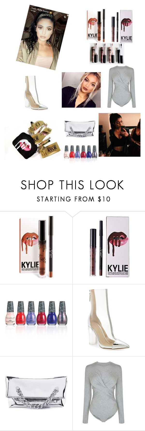 """""""Kylie Jenner"""" by glitterqueenz ❤ liked on Polyvore featuring Kylie Cosmetics, SinfulColors, Kendall + Kylie and KylieJenner"""