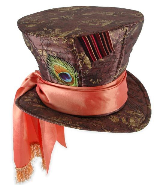 The Disney Mad Hatter Hat offers a colorful, stylish and fun way to embellish a variety of Halloween outfits. It is made of taffeta. Additionally, the Disney hat is comfortable and comes in one size t