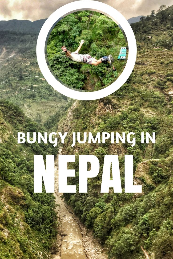 Bungy jumping in Nepal. Awesome and affordable near Kathmandu