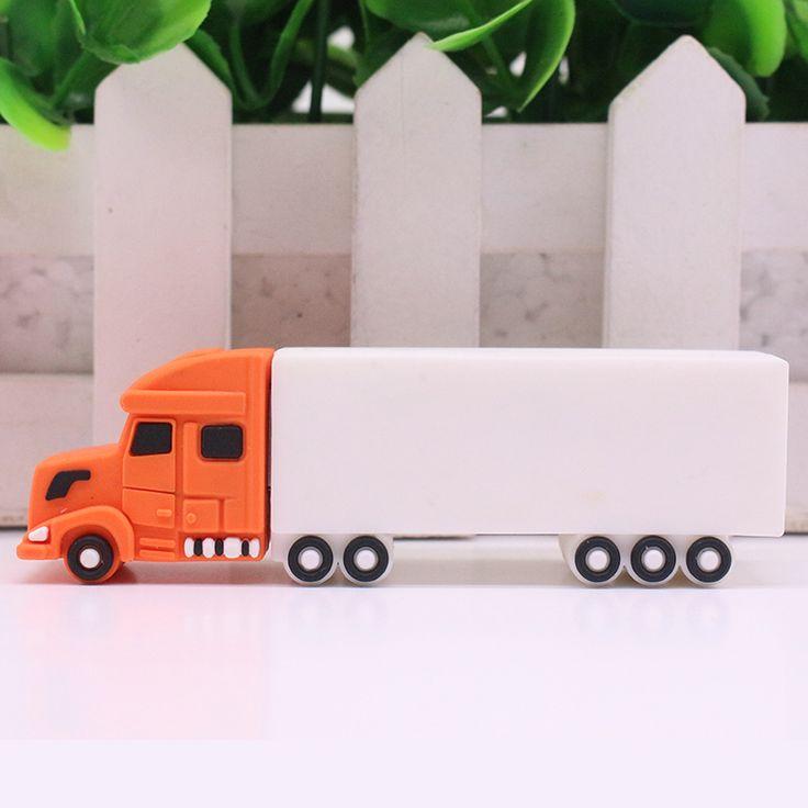 Cargo Truck Car 32GB 16GB 8GB 4GB USB Flash Drive Really Capacity Pen Drive Memory Stick U Disk Pendrives gift Free shipping //Price: $9.95      #followme