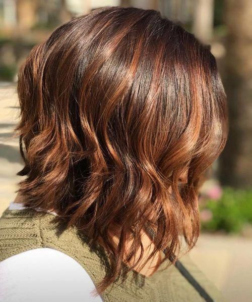 Layered Shoulder Length Bob Mediumfinehairstyles Medium Fine