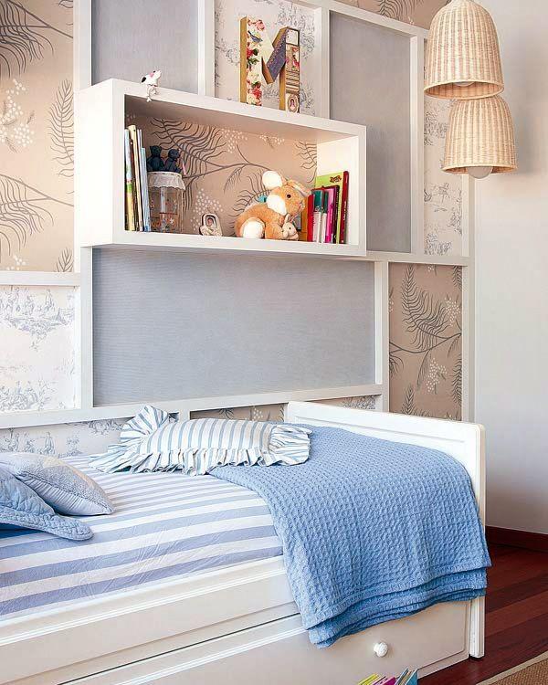 MICASA Dormitorio en azul y blanco Todo un clasico 3