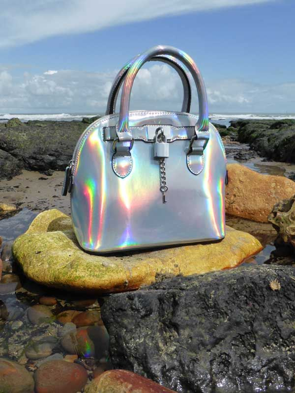 Awesome holographic bowling bag by ASOS. Find out more at http://wightcatwalk.co.uk/space-bag/