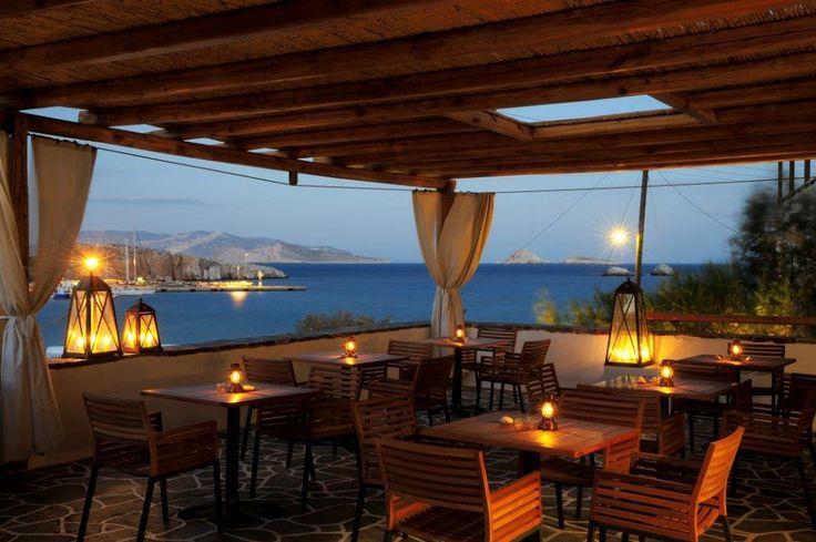 The Grand Veranda in Vrahos Boutique Hotel in #Folegandros.