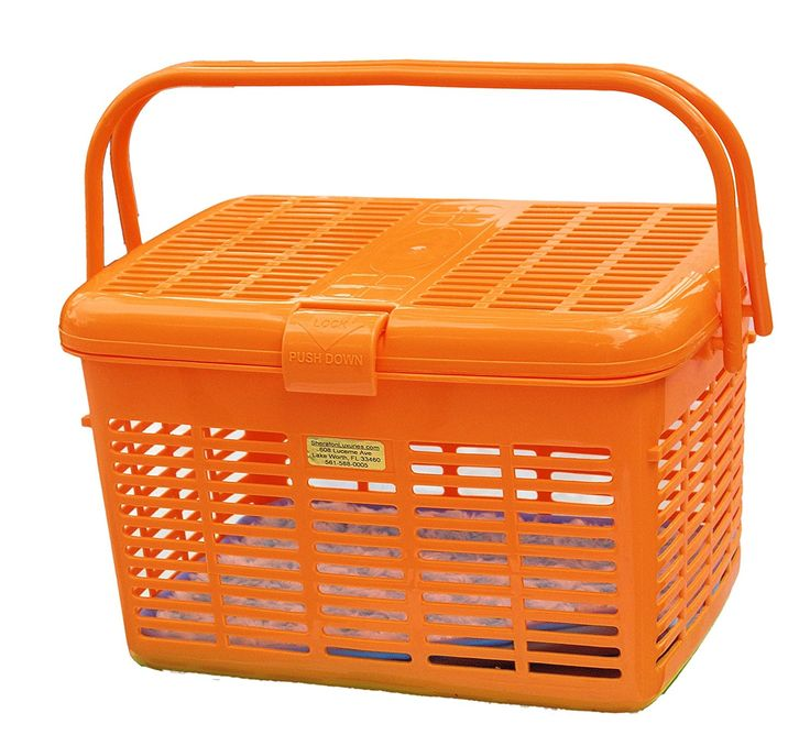 1 Safe Pet Carrier Orange Amazing Pet Carrier Travel 16x11.63x10.25 Safe To The Vet in the Car Wide Top Loader Easily Place and See Cats Dogs Birds Small Animals inside Fully Assembled Free Soft Fur Mat * See this great product. (This is an affiliate link and I receive a commission for the sales)
