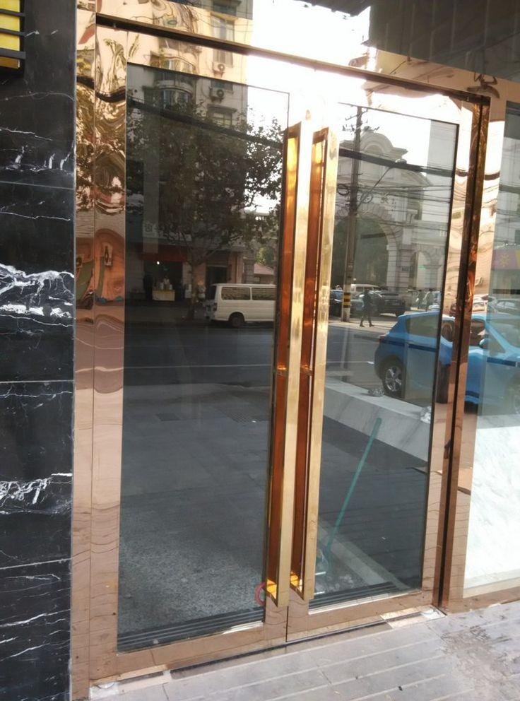 12 best Stainless steel door images on Pinterest | Metal furniture ...