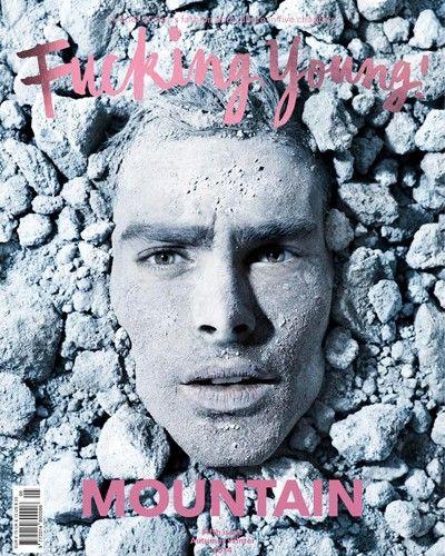 Fucking Young! Magazine #5 MOUNTAIN issue feat. Jon Kortajarena by Hunter&Gatti