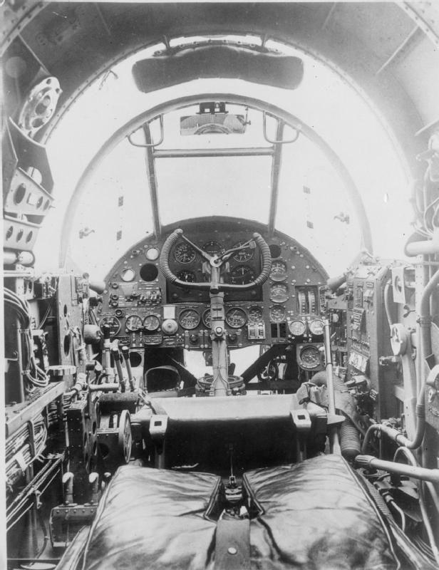 Hampden cockpit WWII IWM CH 1207 - Handley Page Hampden - Wikipedia ~ BFD