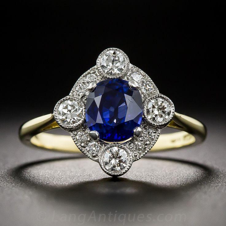 Conjuntos de anillo de compromiso de la vendimia