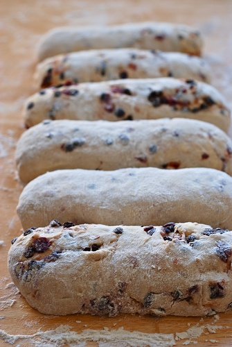 quark stollen (i add marzipan through the middle)