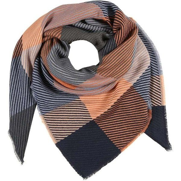 mint&berry PCASTA SQUARE SCARF Skjerf ❤ liked on Polyvore featuring accessories, scarves, mint scarves, square scarves, square shawl and mint green scarves