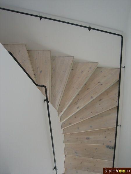 trappa,trappräcke,stål