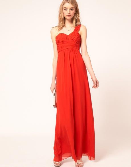 One Shoulder Maxi Dress - Lyst