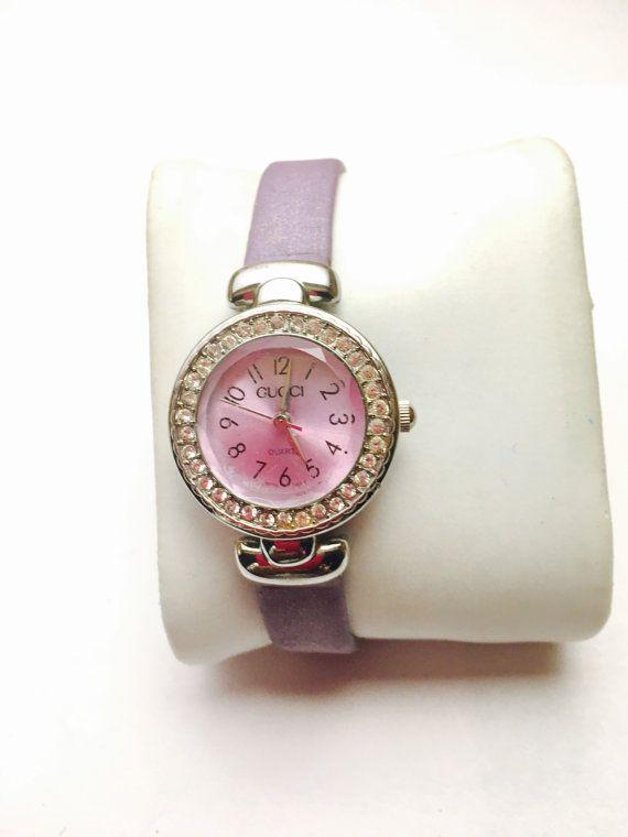 Vintage GUCCI 1972 Ladies Wrist Watch silver Tone by ESTATENOW  #vintage  #Gucci #watch #EtsyEur #etsy #etsyshop #instagood