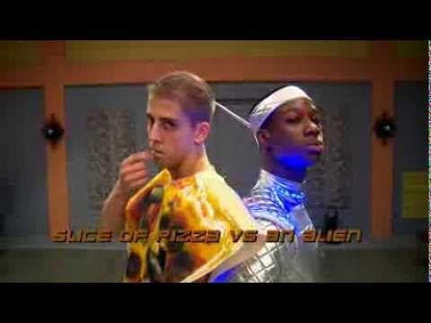 ▶ The Next Step Halloween Dance Battle - Slice of Pizza vs. An Alien
