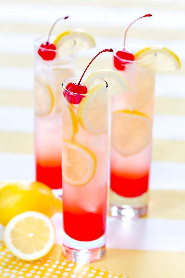 Refreshing Cherry Lemonade, my go to recipe! Pizzazzerie.com