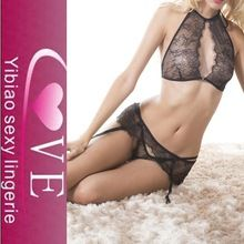 hot sale fashion black lace covers stylish bra and panty set Best Seller follow this link http://shopingayo.space