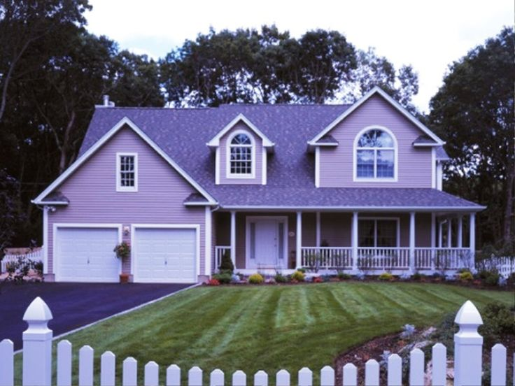 A lilac house from my Easter Parade of Homes