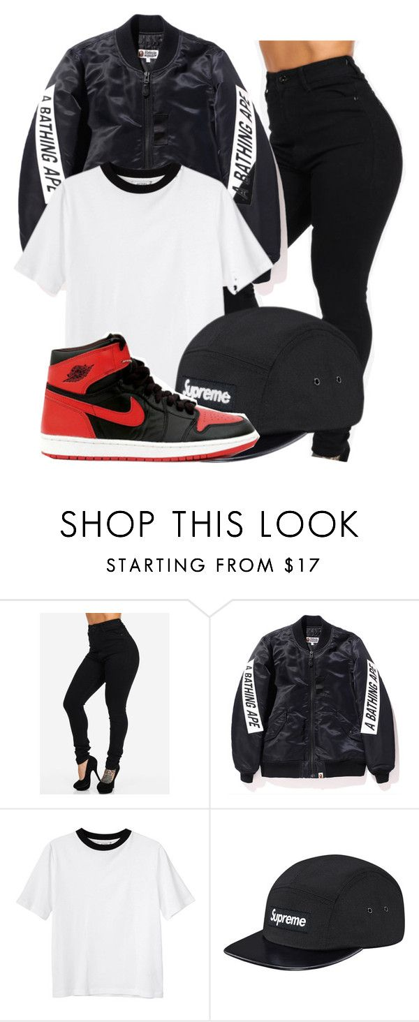 """""""Skyfall - Travis scott ft. Young thug"""" by shyannelove123 ❤ liked on Polyvore featuring Monki, women's clothing, women, female, woman, misses and juniors"""