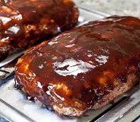 Biggest Loser Recipes - BBQ Bacon Meatloaf