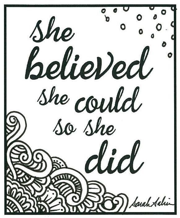 She Did It Quote Coloring Pages Cool Coloring Pages Free