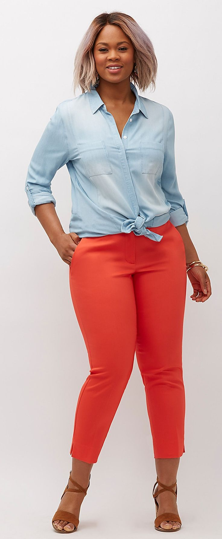 10 best images about curvy girl fashion on pinterest ankle pants plus size outfits and skirts Fashion style for curvy