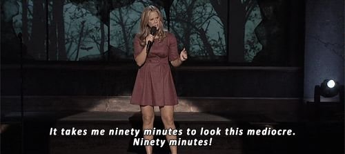 Though, you hate agonizing over your outfit. | 27 Times Amy Schumer Nailed What Dating Is Like For Women