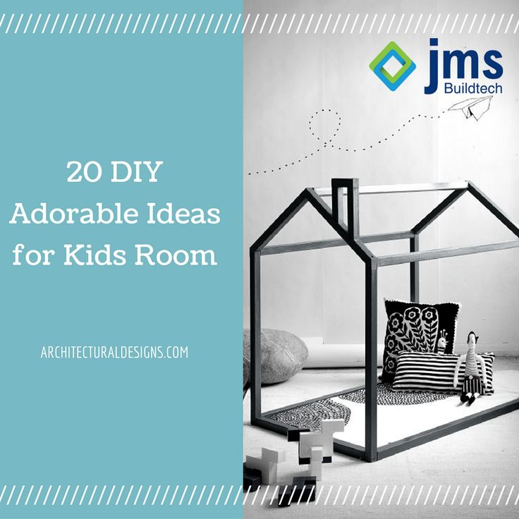 20 DIY Adorable Ideas for Kids Room. #DIY Visit the link: http://bit.ly/1dM0L3v