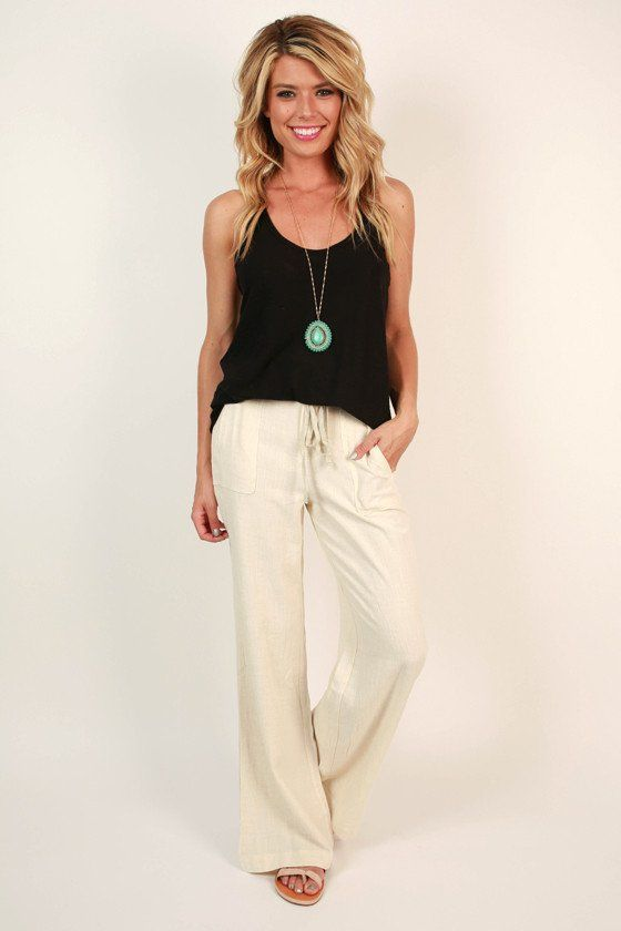 Model White Linen Pants Women Outfits  Luxury Yellow White Linen Pants Women Outfits Photo U2013 Playzoa.com