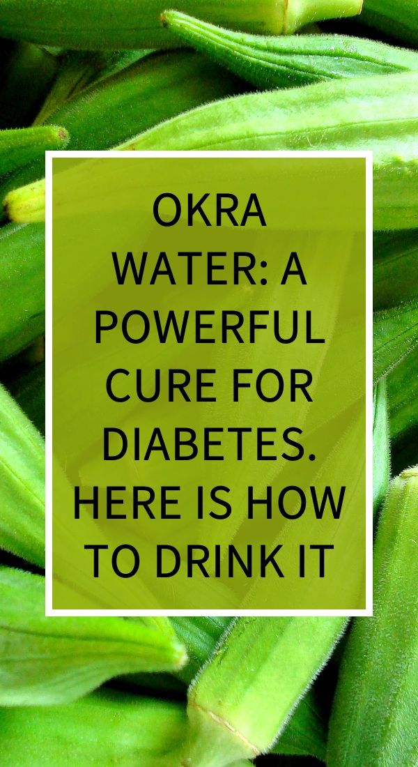 Okra Water A Powerful Cure For Diabetes Here Is How To Drink It Natural Cold Remedies Natural Remedies For Heartburn Health Knowledge