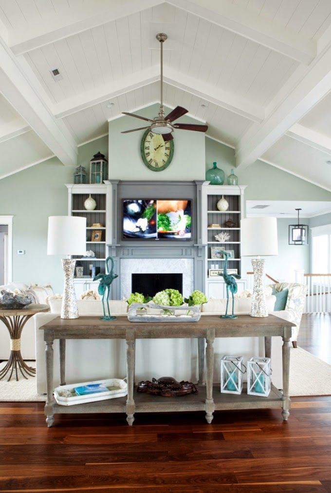 13 best vaulted ceilings images on pinterest vaulted - Vaulted ceiling designs for homes ...