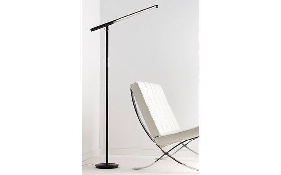 Brazo Floor Lamp, Aluminum