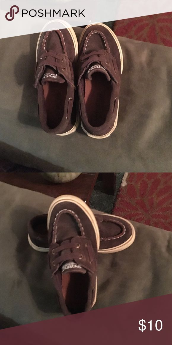 Sperry leather brown boat shoes Leather brown boat shoes with straps Sperry Shoes