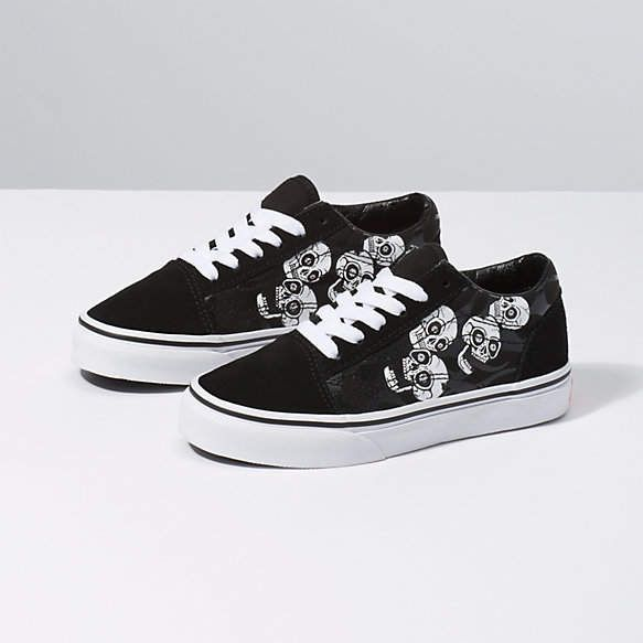 Kids Glossy Flame Old Skool | Kids shoe shops