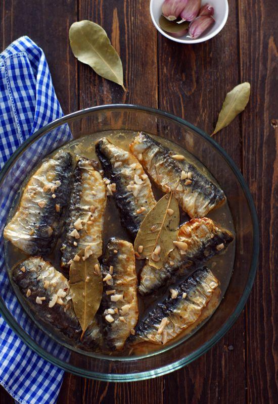 Receta 641: Sardinas en escabeche » 1080 Fotos de cocina