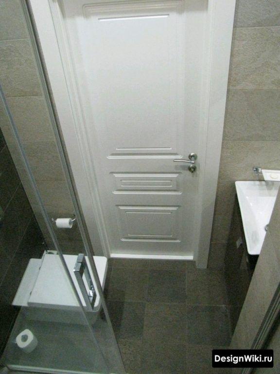 дизайн очень маленькой ванной комнаты 2