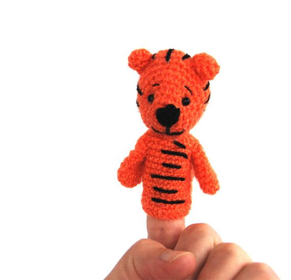 $21.46 #puppet #TIGER, #soft #educational #toy, #play #puppet #theater, #tiger #finger #puppets, #waldorf #style #puppet #develop #imaginary #play, #soft #sculptured