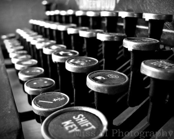 28 best Homage to the Typewriter images on Pinterest