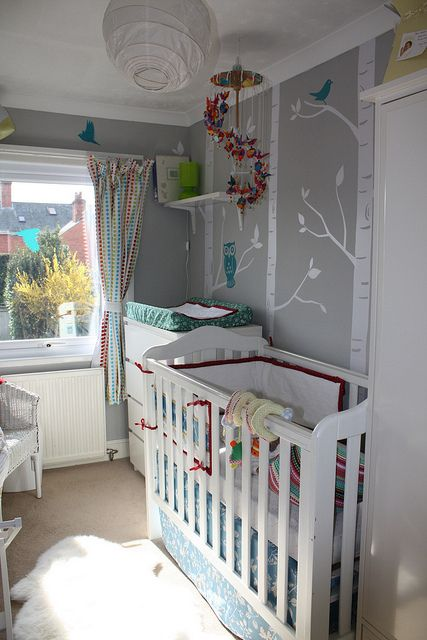 In love with these wall decals. I found this same one on Etsy.  ~GirlNesting