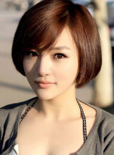 Coupe de cheveux fille asiatique