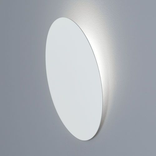 Round recessed LED wall light fixture FACE by Robert & Serge Cornelissen Aqlus