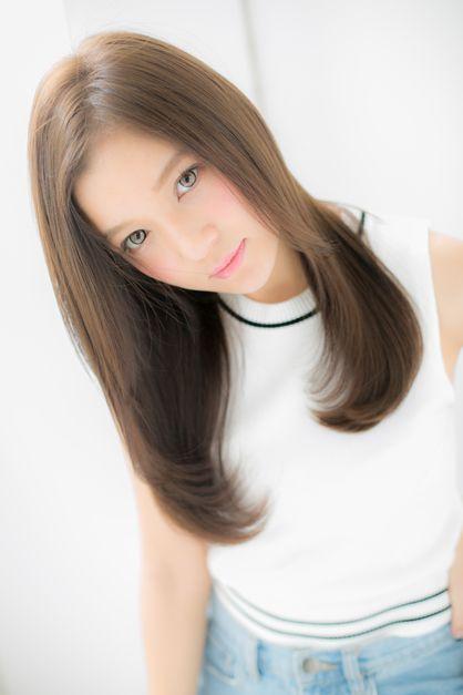 ~ RUCE ~ Nanaitoguchi's style! Clean and cute gloss straight ♪   Machida, Tamagawa Gakuen ago · Naruse of beauty salon hair style of RUCE   Rasysa (Rashi)