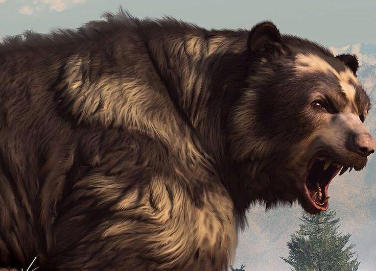 Short-faced bear - Daniel Eskridge