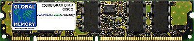 256MB DRAM DIMM CISCO 7500 ROUTERS ROUTE SWITCH PROCESSOR 16 ( MEM-RSP16-256M )