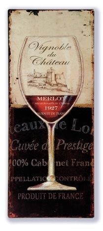 Vignoble du chateau (Wijnglas) | Wijn | Signs of Time