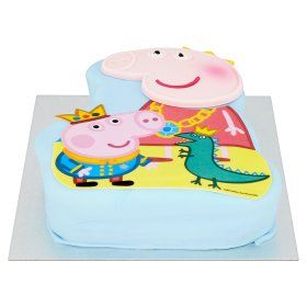 Peppa Pig Celebration Cake - ASDA Groceries