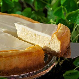 Bailey's Irish Cream Cheesecake, by Chef