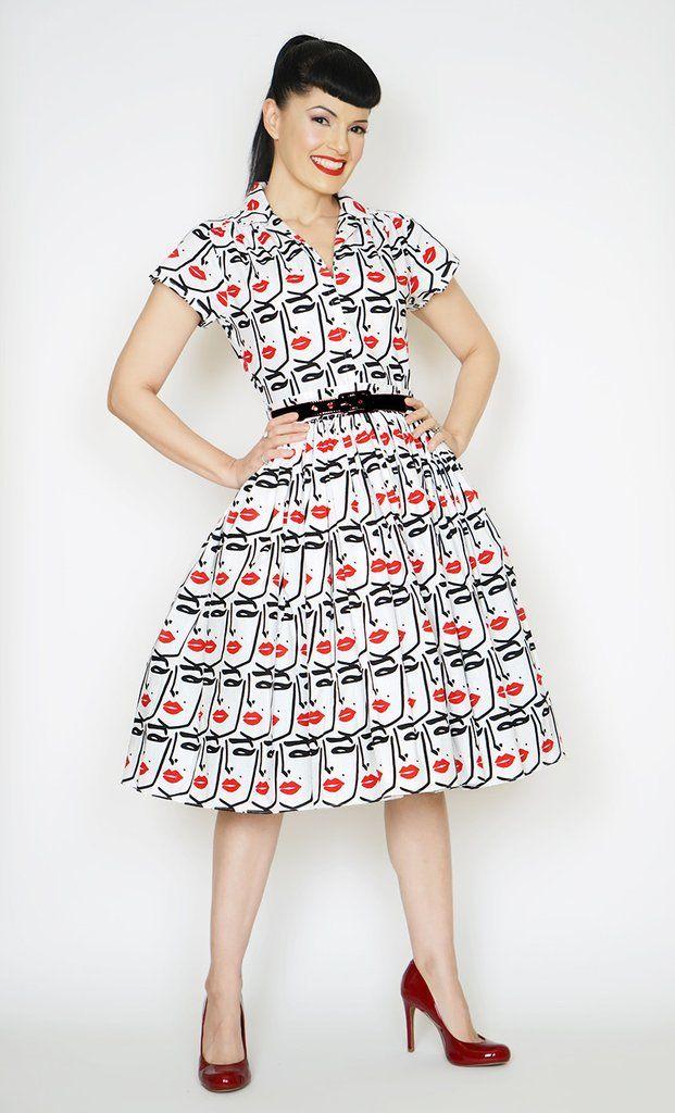 Kelly Dress in Beauty Mark - Bernie Dexter